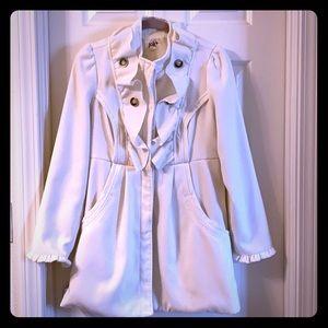 Jolt cream dress pea coat
